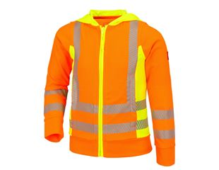 High-vis functio. hooded jacket e.s.motion2020, c.