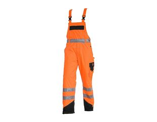 High-vis thermal bib & brace e.s.image
