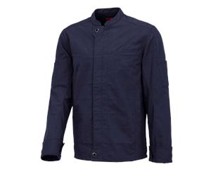 Work jacket long sleeved e.s.fusion, men's