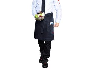 Mid-Length Apron denim e.s.fusion, men's