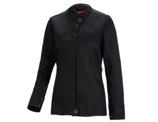 Work jacket long slee.denim raw e.s.fusion,ladies'