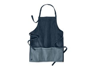 e.s. Bib Apron denim, short