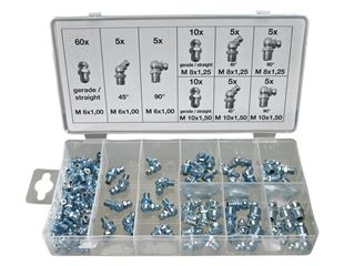 Grease nipple Assortment, 110 units