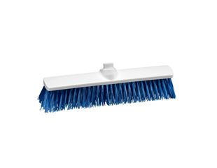 Hygiene Broom blue polypropylene 400x60 mm