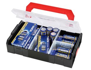 VARTA-batteries in e.s. Boxx mini