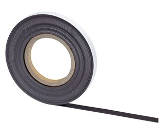 Magnetic band, self-adhesive