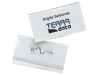 DURABLE Name Badges, Pin Badges