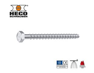 HECO® Multi-Monti plus hex VG zn