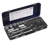 Socket set Xi-On 1/4 + 1/2