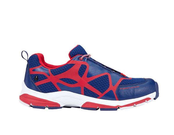 e.s. O2 Work shoes Thebe royal/fiery red/white