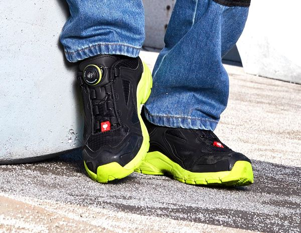 Kids Shoes: e.s. Allround shoes Corvids, children's + black/high-vis yellow 1