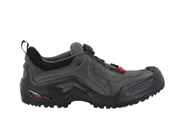 O2: e.s. O2 Work shoes Apate low + anthracite/black