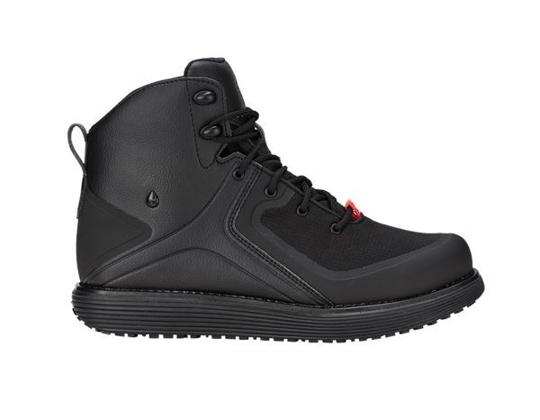 O2: e.s. O2 Work shoes Peitho  mid + black
