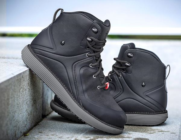 O2: e.s. O2 Work shoes Peitho  mid + anthracite/cement 1