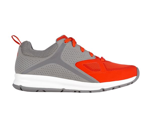 Work Shoes O1: e.s. O1 Work shoes Horen + aluminium/redorange