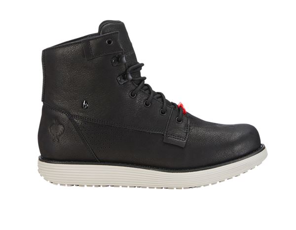 O2: e.s. O2 Work shoes Segamo mid + black