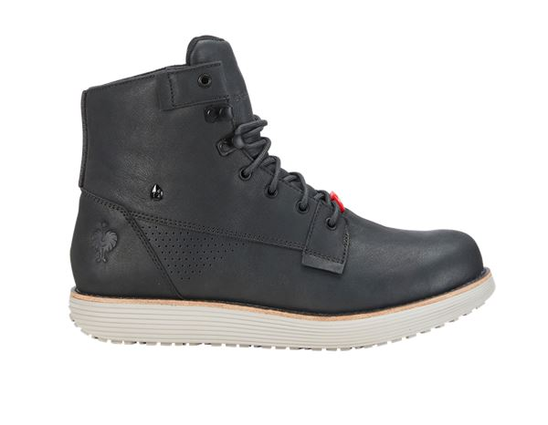 Work Shoes O2: e.s. O2 Work shoes Segamo mid + anthracite