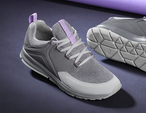 O1: e.s. O1 Work shoes Honnor, ladies' + cement/lavender 1