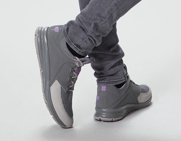 O1: e.s. O1 Work shoes Honnor, ladies' + cement/lavender 2