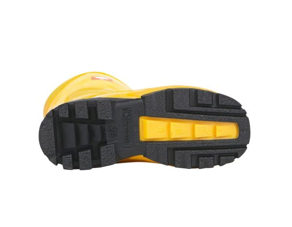 Kids Shoes: Children's boots + yellow 2
