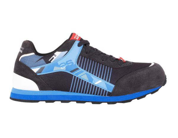 Safety Shoes S1: e.s. S1 Safety shoes Sirius + graphite/gentian blue