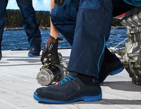 Safety Shoes S1P: e.s. S1P Safety shoes Naos + navy/atoll 2