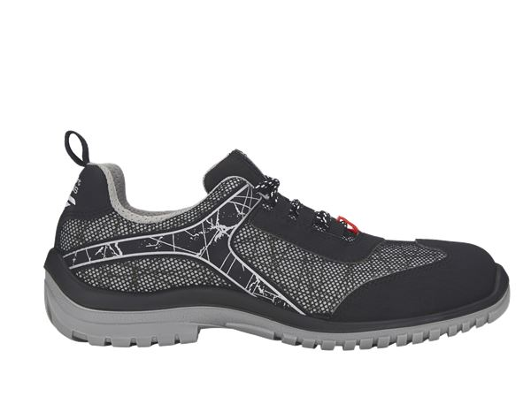 S1: e.s. S1 Safety shoes Spider + black/grey