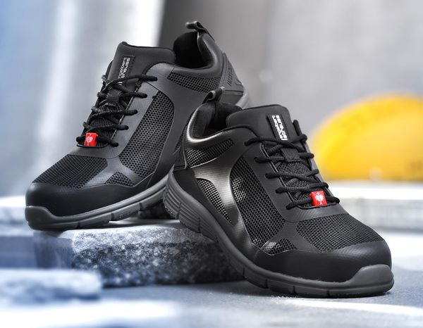 S1: e.s. S1 Safety shoes Romulus low + black 1