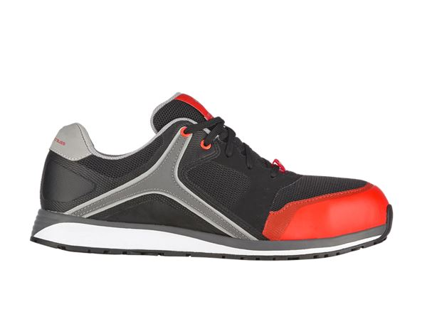 Safety Shoes S1: e.s. S1 Safety shoes Erebos + oxidblack/redorange