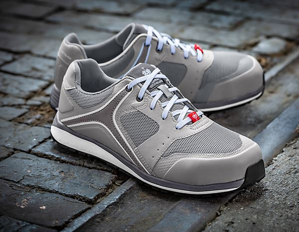 Safety Shoes S1: e.s. S1 Safety shoes Erebos + dovegrey/cement 1