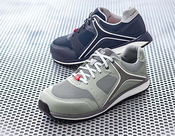 Safety Shoes S1: e.s. S1 Safety shoes Erebos + dovegrey/cement 2