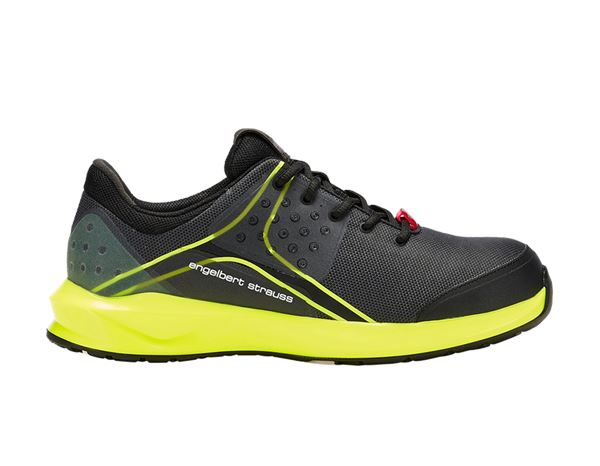 S1: e.s. S1 Safety shoes Hades + black/high-vis yellow