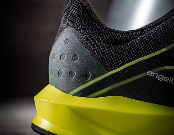 S1: e.s. S1 Safety shoes Hades + black/high-vis yellow 3