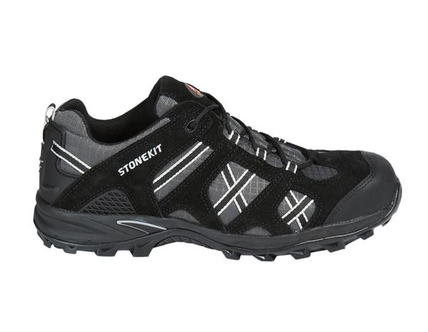 Safety Shoes S1: STONEKIT S1 Safety shoes Portland + black/asphalt