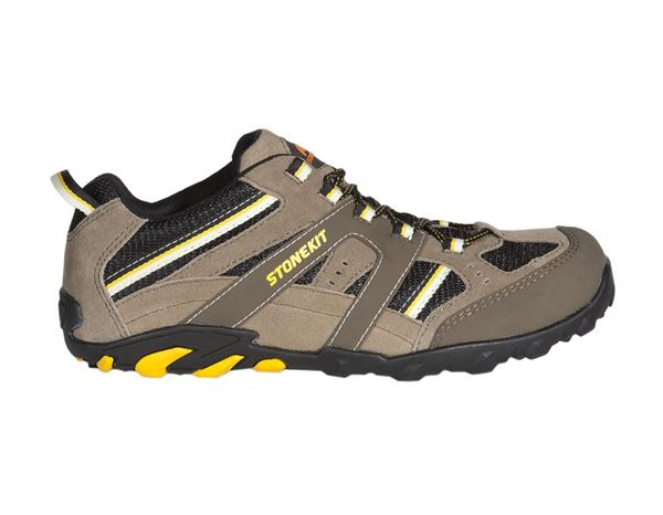 Safety Shoes S1: STONEKIT S1 Safety shoes Zürich + beige/black/yellow