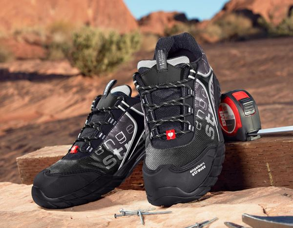 Safety Shoes S1: e.s. S1 Safety shoes Merak + black/grey/silver 1