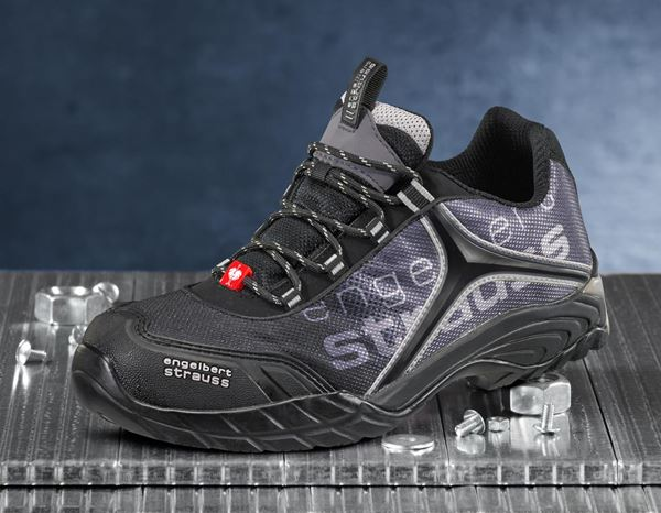 Safety Shoes S1: e.s. S1 Safety shoes Merak + black/grey/silver 2