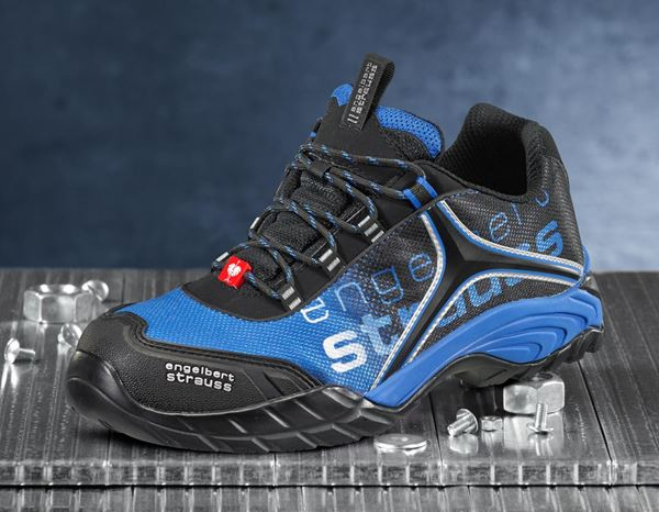 Safety Shoes S1: e.s. S1 Safety shoes Merak + graphite/gentian blue 2