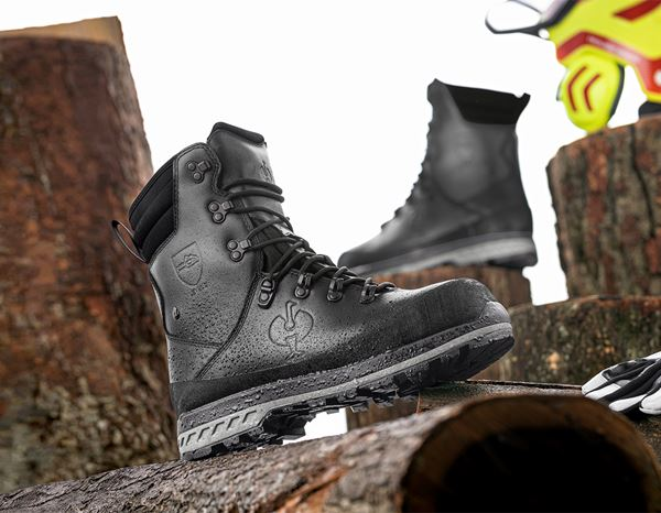 S2: e.s. S2 Forestry safety boots Triton + black 1