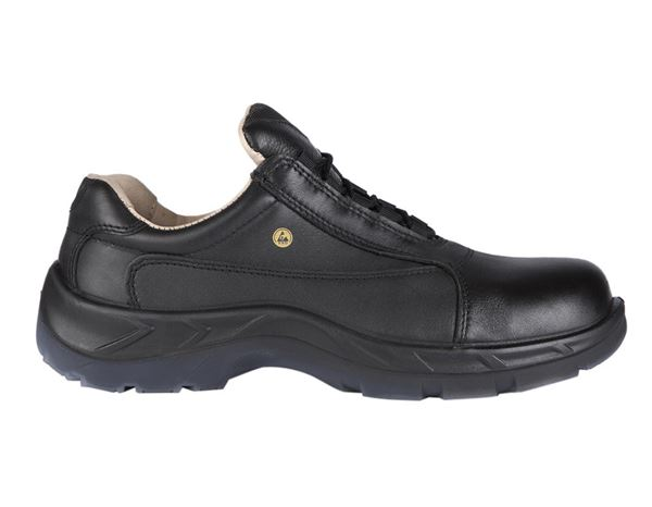 Safety Shoes S2: S2 Safety shoes Lugano + black