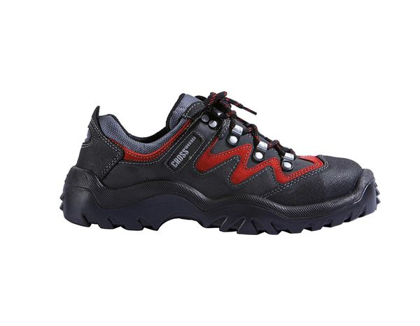 Safety Shoes S2: S2 Safety shoes Spirit + black/red