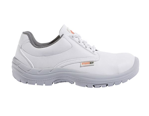 Safety Shoes S2: STONEKIT S2 Safety shoes Kos + white