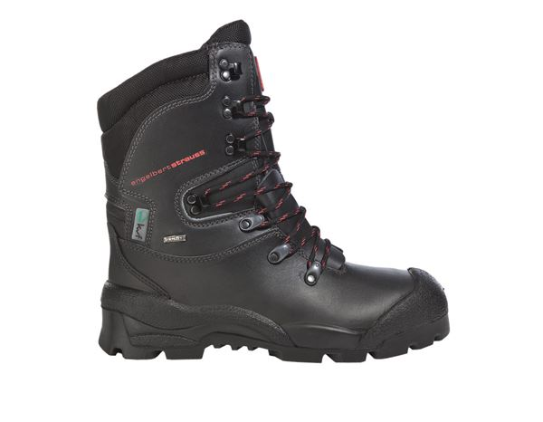 Safety Boots S2: S2 Forestry safety boots Harz + black