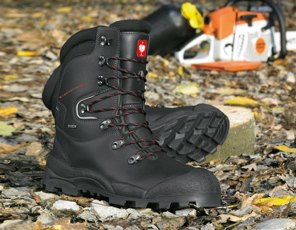 Safety Boots S2: S2 Forestry safety boots Harz + black 1