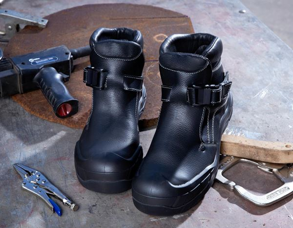 S3: e.s. S3 Welder's safety boots Pleione + black 2