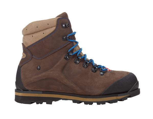 e.s. S3 Safety boots Alrakis mid bark/walnut/atoll