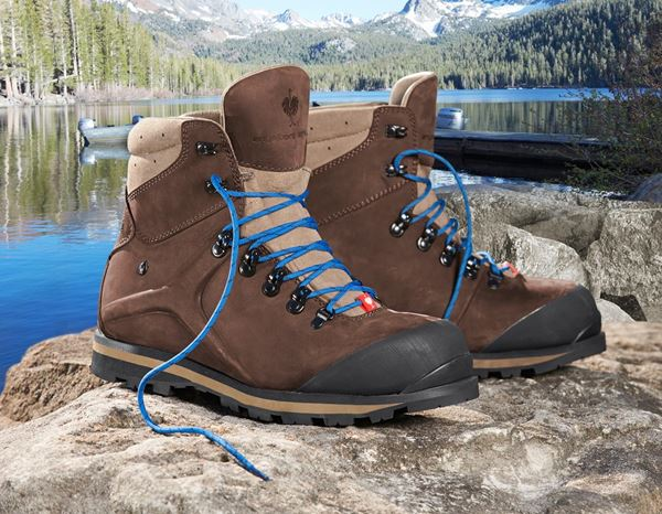 Safety Shoes S3: e.s. S3 Safety boots Alrakis mid + bark/walnut/atoll 1