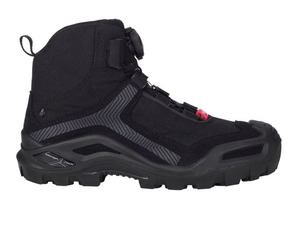 S3: e.s. S3 Safety boots Kastra mid + black