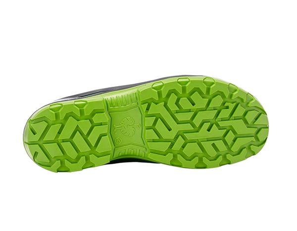 S3: e.s. S3 Safety shoes Kastra low + green/seagreen 1