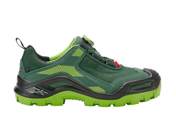 S3: e.s. S3 Safety shoes Kastra low + green/seagreen
